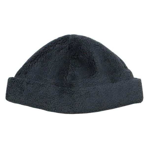 cableami Boa Fleece Drawcord Hat - Gray