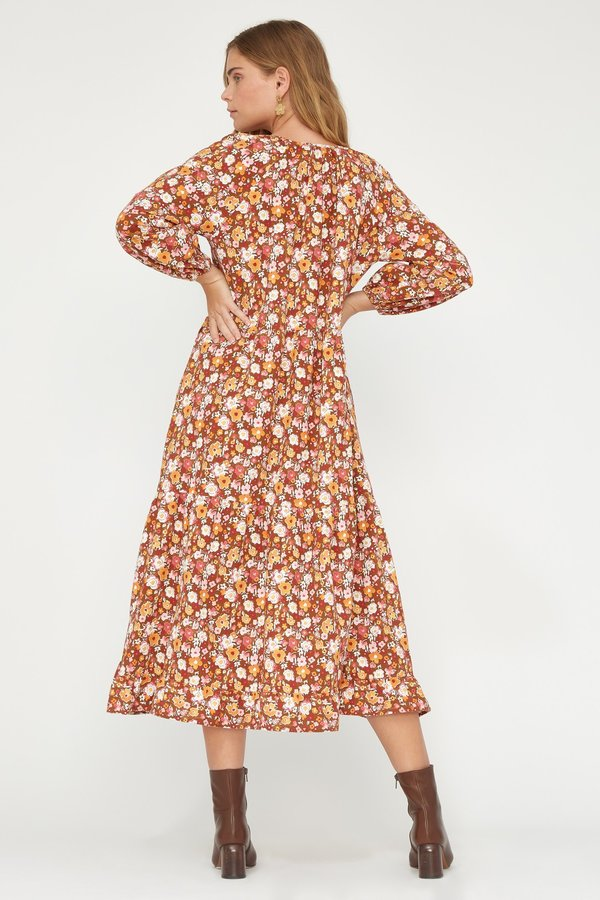 Lacausa Berkeley Dress - Flora
