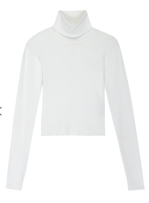 A.L.C. eberly top - white