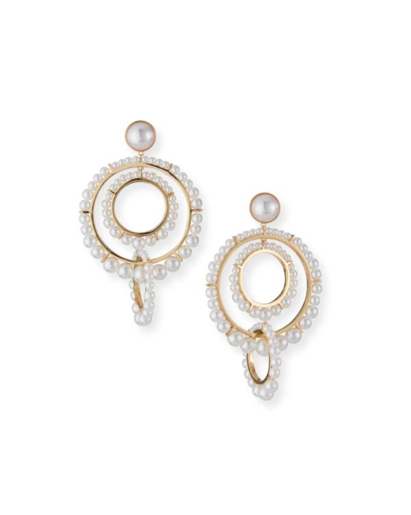 Mignonne Gavigan Carter Hoop Earrings - Brass