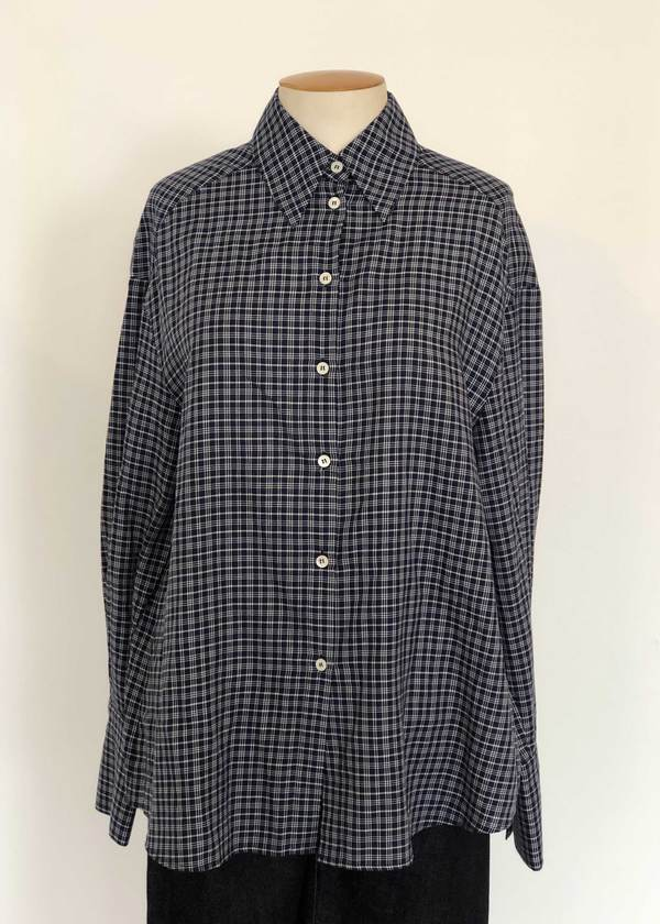 Not specified Bonnie Shirt (Navy Check Sample)