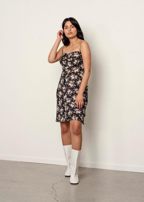 Not specified Maxine dress (Leopard Sample)