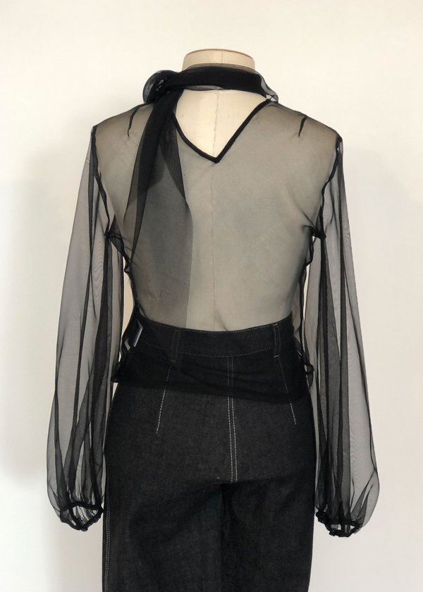 Not specified Roque Long Sleeve Top (Black Sample)