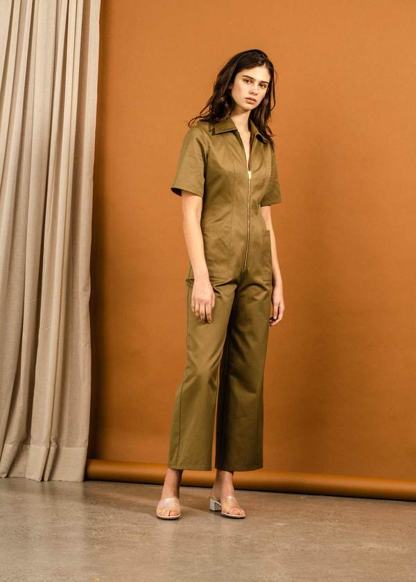 Not specified Sophy Jumpsuit (Bronze Sample)