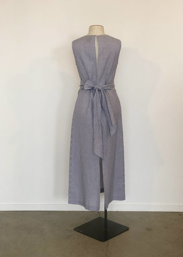 Not specified Yrsa Dress (Navy Stripe Sample)
