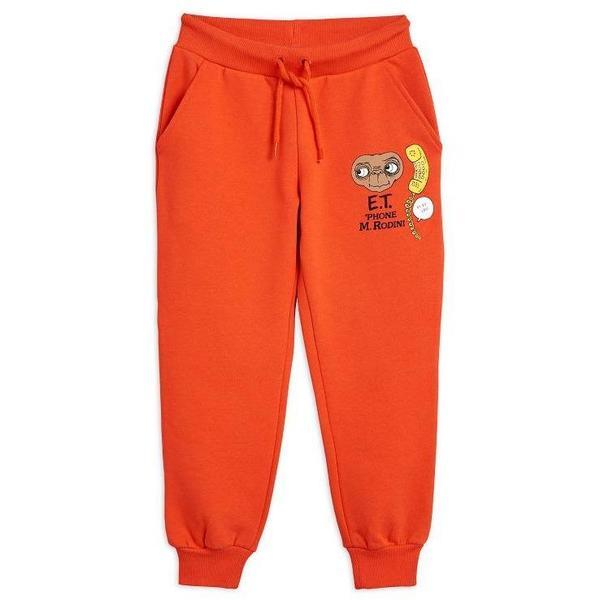 mini rodini E.T. patch sweatpants red