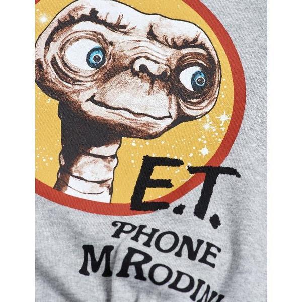 mini rodini E.T. raglan sweatshirt grey melange