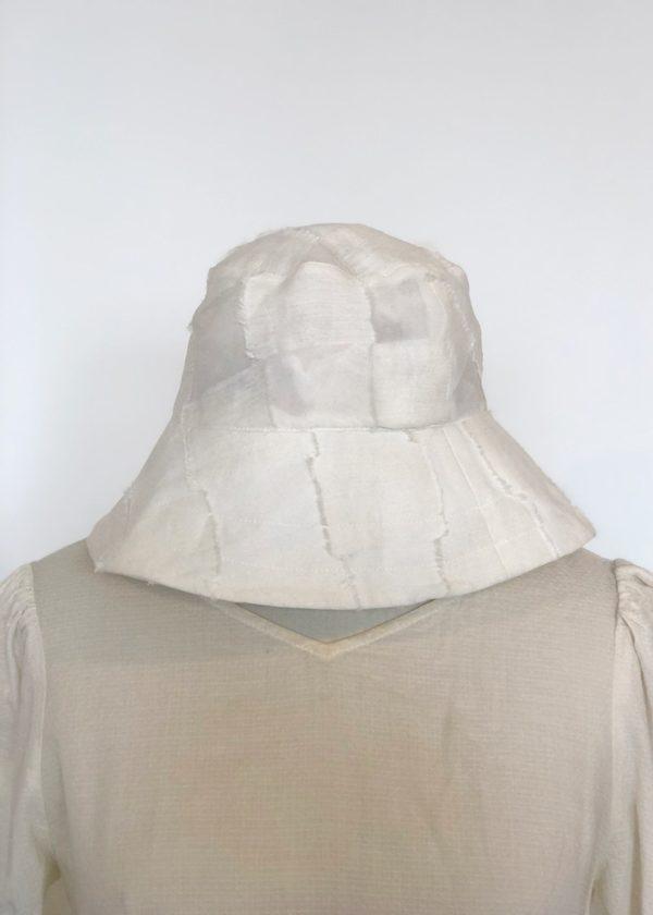 Penny Sage Novella Hat - Ivory Check