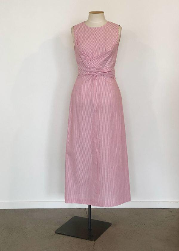 Penny Sage Yrsa Dress - Berry Stripe