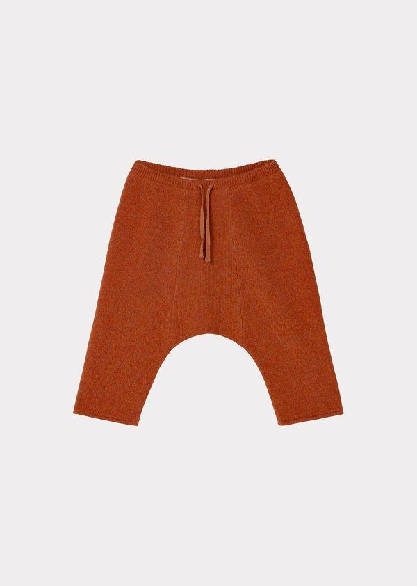 Baby Caramel Parakeet Trouser - Cinnamon