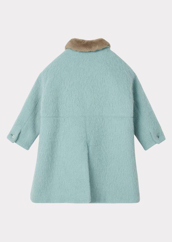 Kids Caramel Shelduck Coat - Mint