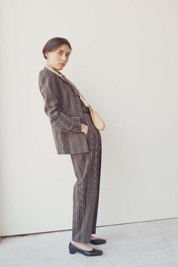 Hannah Emile Droplet Crossbody Bag - Butter Leather