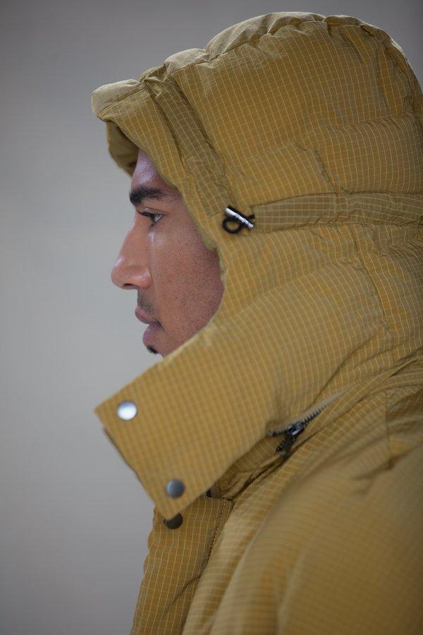 Henrik Vibskov Tiles Long Coat - Yellow Tiles