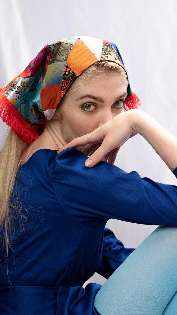 Rightful Owner Silk Baboushka - Patchwork