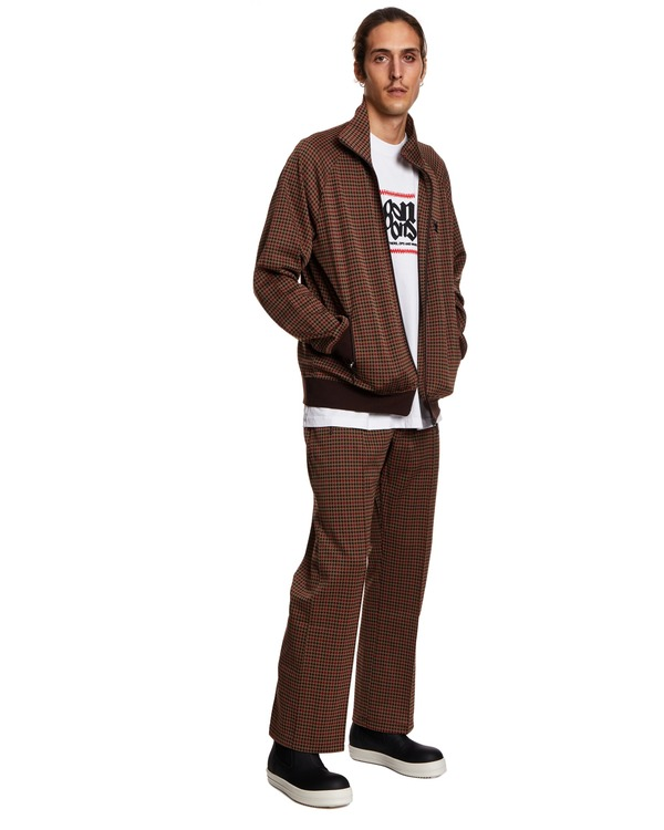 Needles Open Sweatshirt - Brown