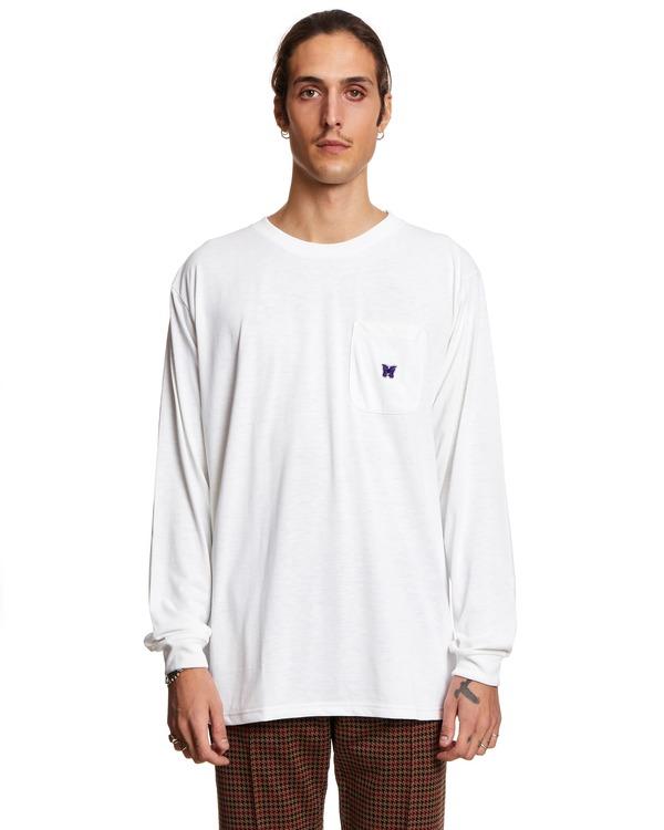 Needles Long Sleeved T shirt - White