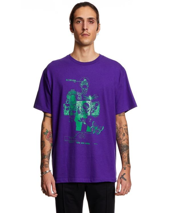Fucking Awesome T shirt - Purple