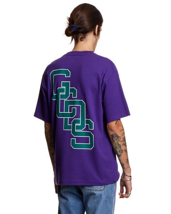 GCDS T shirt with Print - Purple