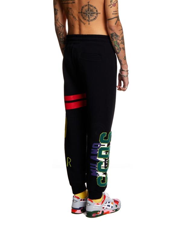 GCDS Nascar Tracksuit Pants - Black