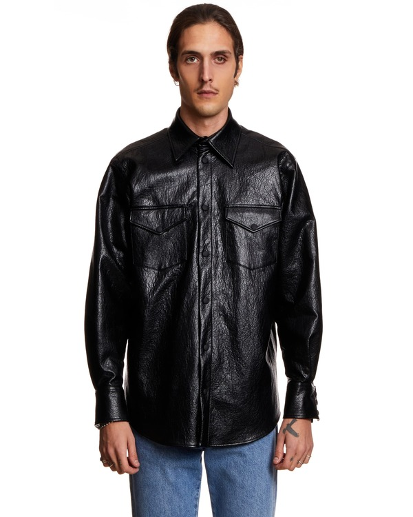 MSGM Shirt - BLACK