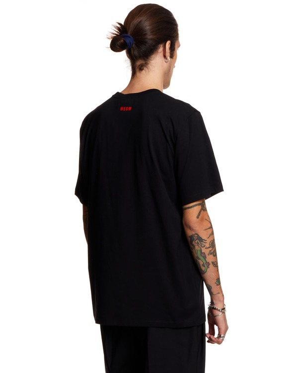 MSGM T-shirt with Print - black