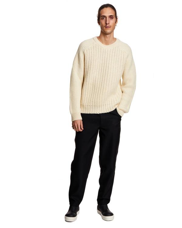Sunflower Sweater - white