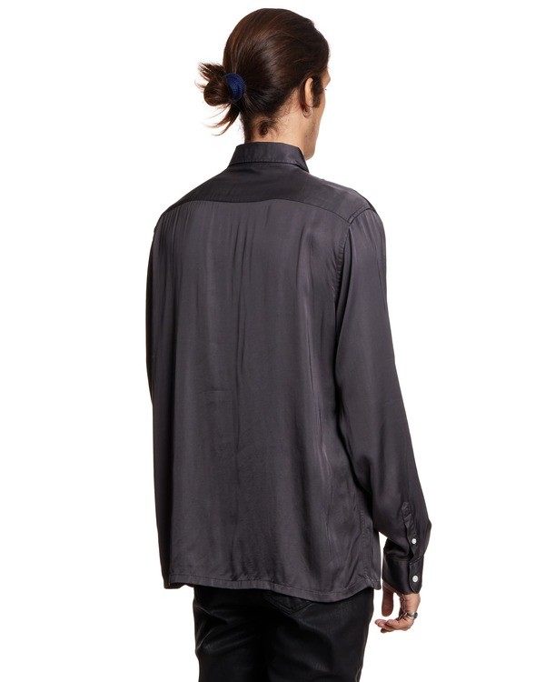 Sunflower Shirt with Pocket - Gray