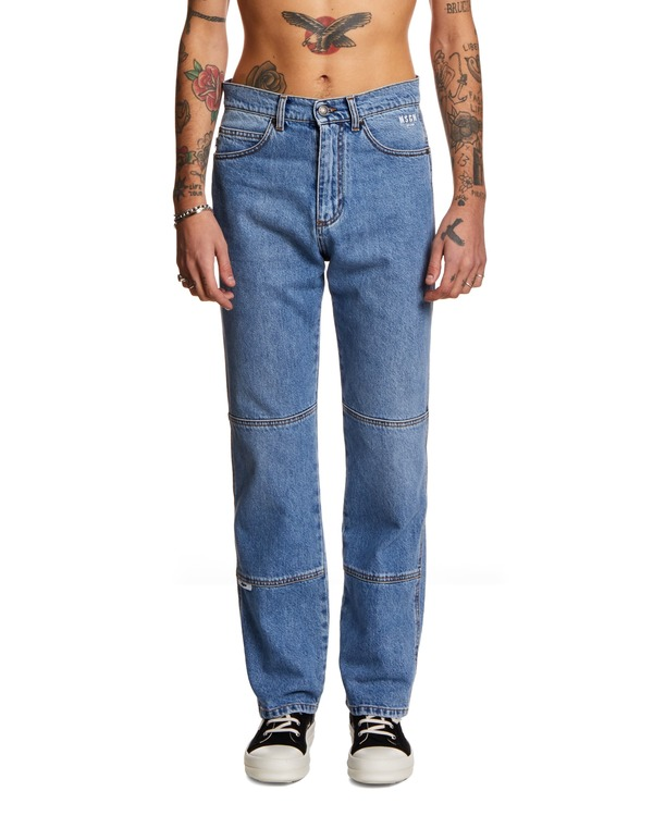 MSGM Straight Jeans - blue