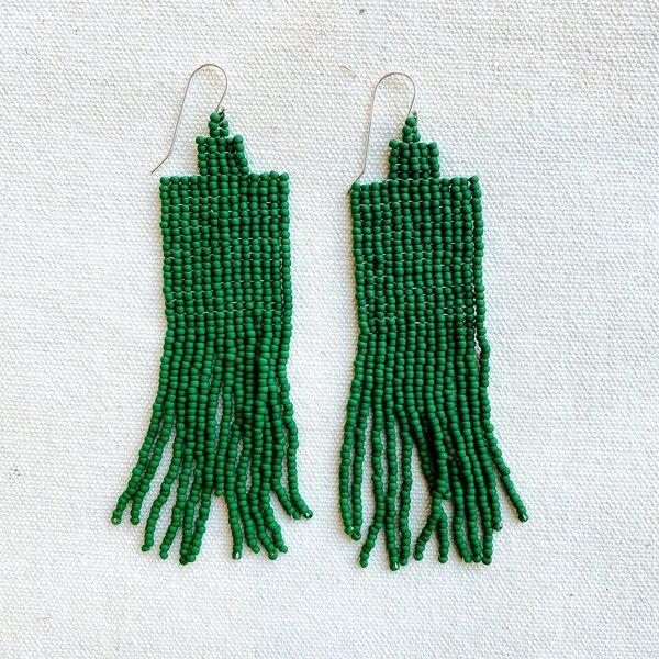 Ukaome Sasha Earrings - Green