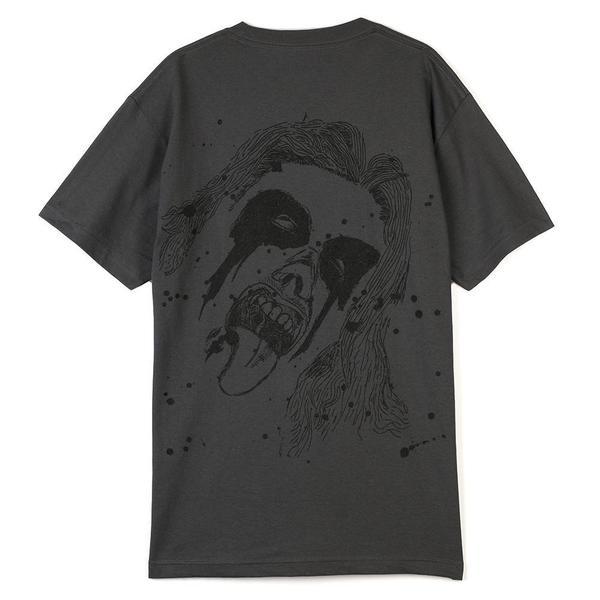 Pleasures God Bless T-shirt - Charcoal