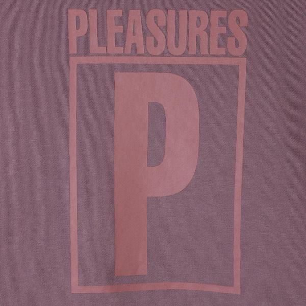 Pleasures Rapture Color Blocked Pullover Hoodie - Dusty Rose