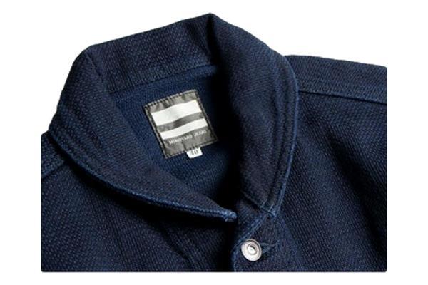 Momotaro Jeans Dobby Coveralls Jacket - Indigo