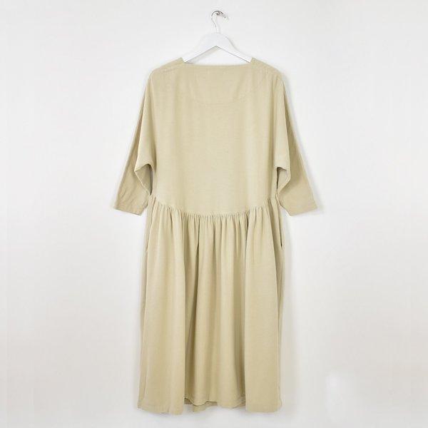 Black Crane Tradi Dress - Natural
