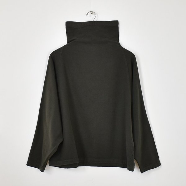 Black Crane Tube Top - Dark Grey