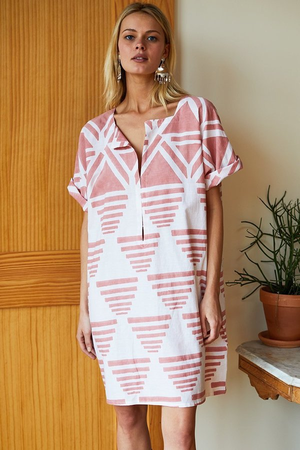 Emerson Fry Rise Caftan - Muted Clay