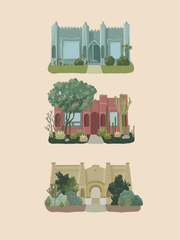 By Persimmon Moorish Homes Limited Edition Print
