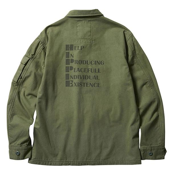 Hippie Bdu Jacket 'Olive'