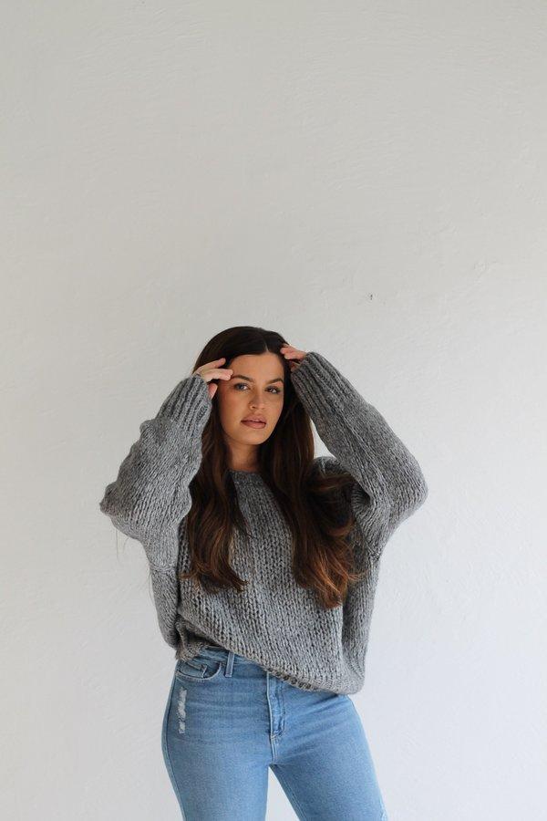 Descendant The Brigid Sweater - Gray