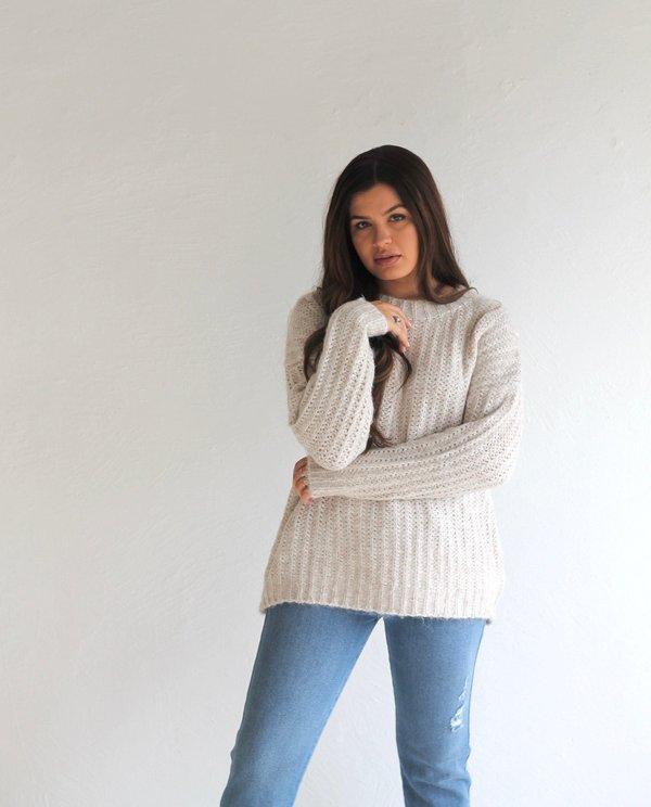 Descendant The Leah Sweater - Oatmeal
