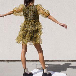 Organza Mini Dress
