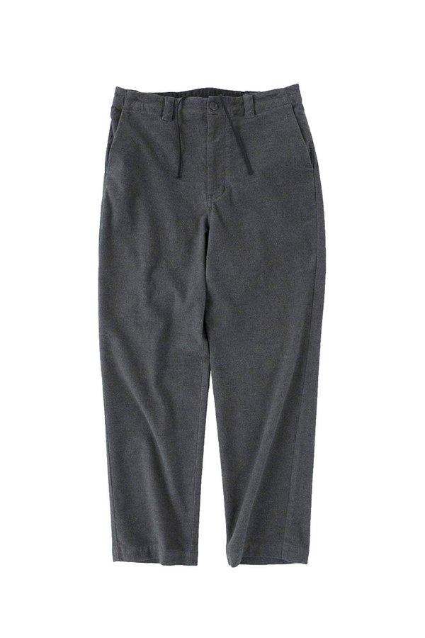 STILL BY HAND  Moleskin Easy Pants - Charcoal
