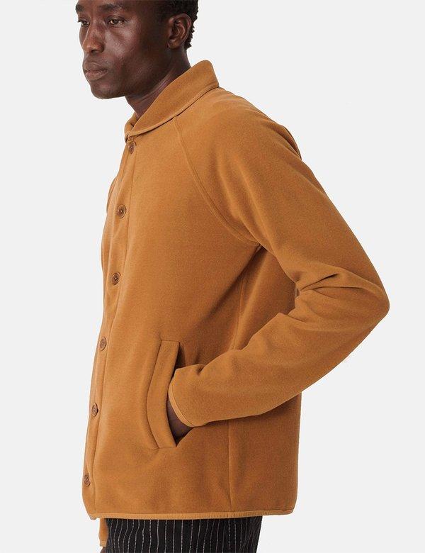 YMC Beach Fleece Jacket - Brown