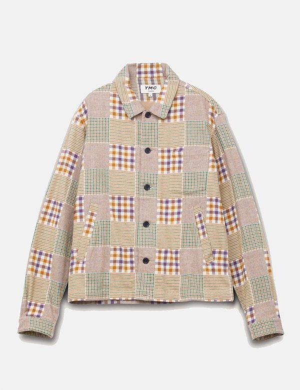 YMC Bowling Shirt  - Multi colour check