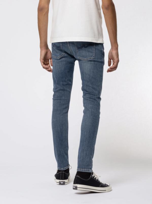 Nudie Jeans Skinny Lin Jeans - Dark Blue Navy