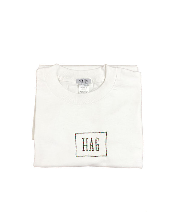 unisex house of 950  hag embroidery tee shirt