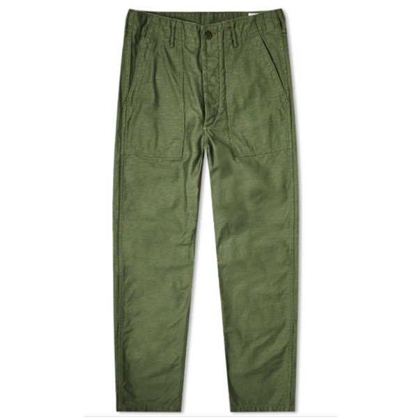 orSlow Army Fatigue Pants - Army Green