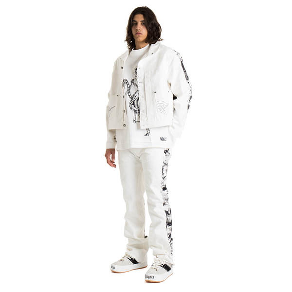 FORMY STUDIO The Knight of Shadows jacket - white