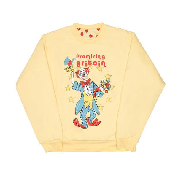 MARTINE ROSE Reversible sweatshirt - Yellow