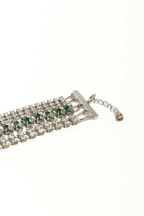 Musa Tryon Six Strand Emerald Bracelet