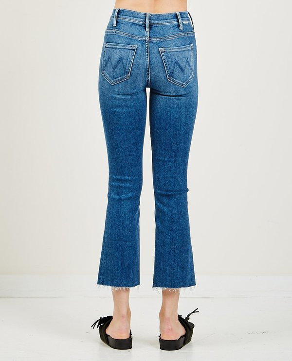 Mother Denim The Hustler Ankle Fray Jeans - Satisfaction Guaranteed